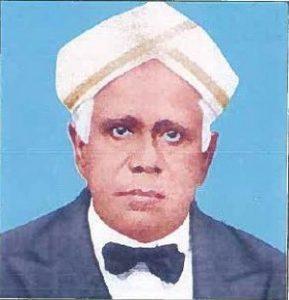 UVCE_Principal_S A Ramaswami Iyer
