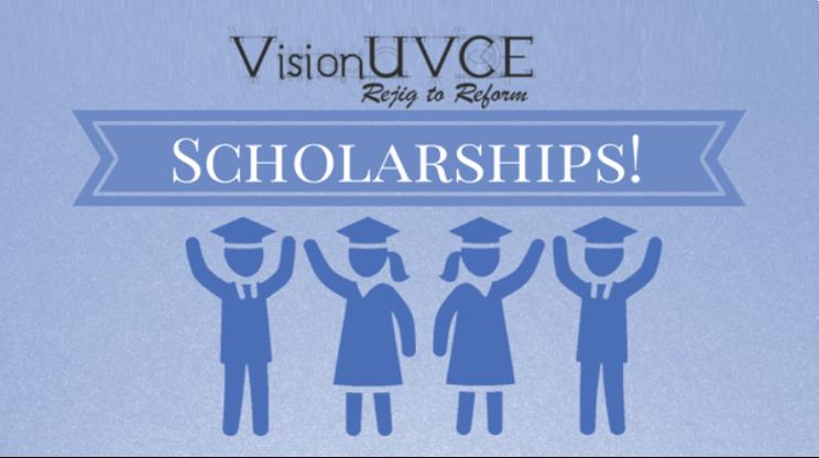 VisionUVCE Scholarships 2016