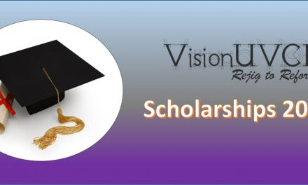 VisionUVCE Scholarships 2016-17
