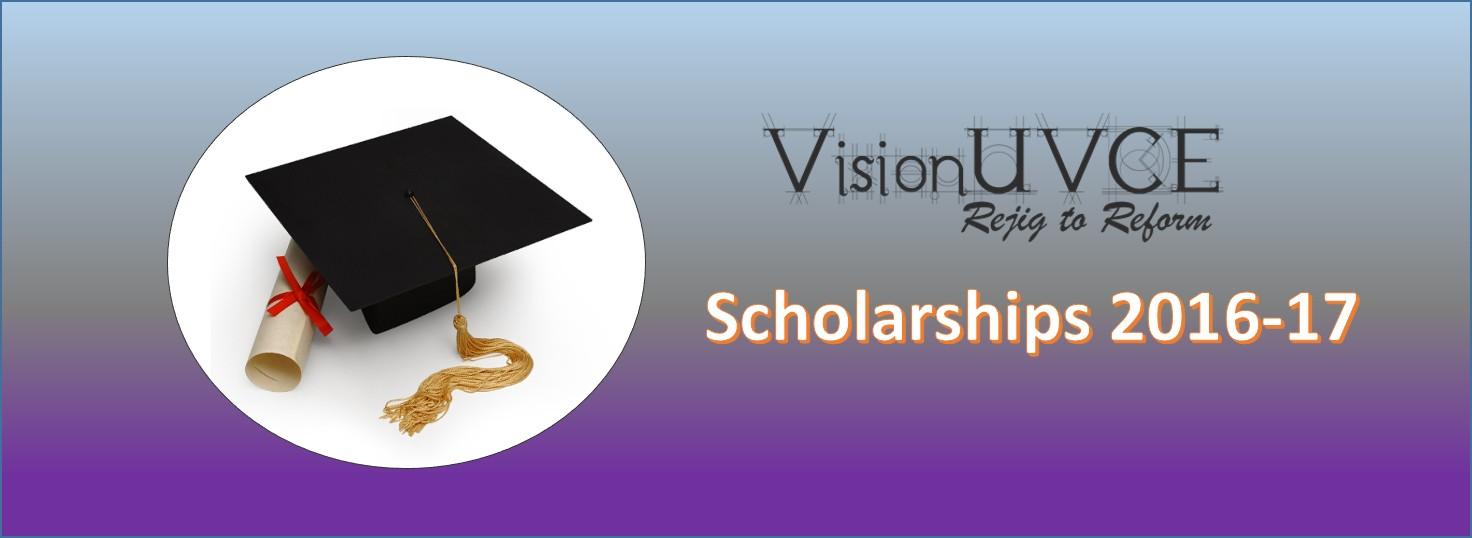 VisionUVCE_Scholarships