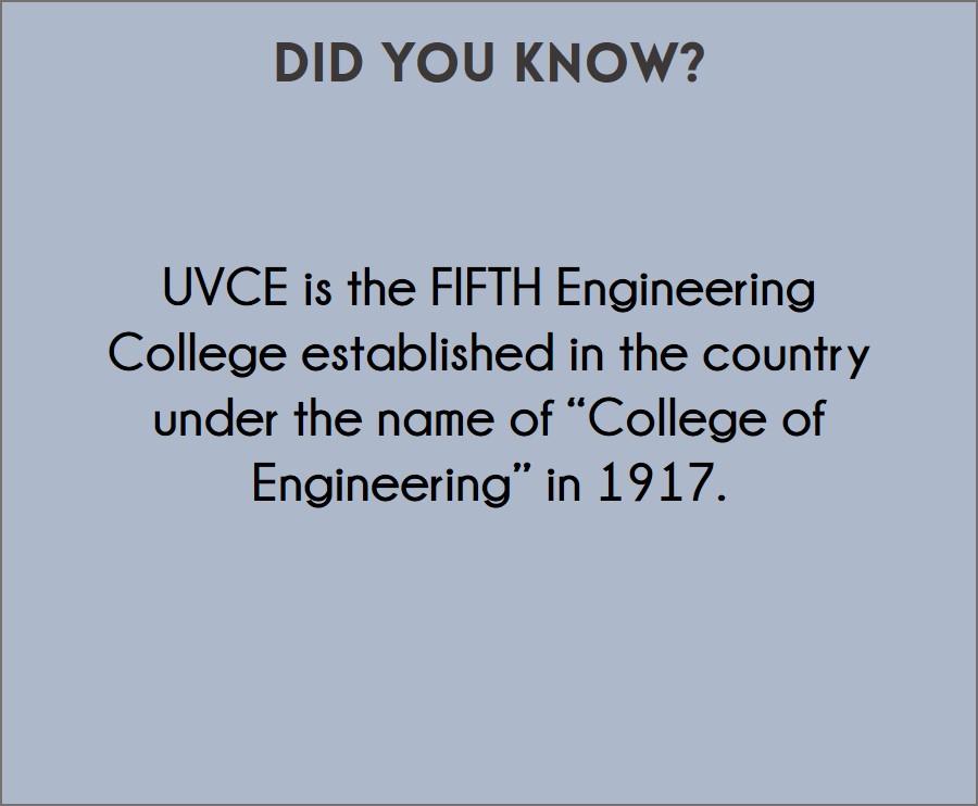 UVCE Fact1