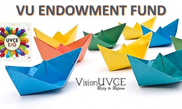 UVCE Centenary Initiative – VU Endowment Fund