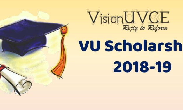 VisionUVCE Scholarships List 2018-19