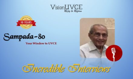 Incredible Interviews | Sampada 80 – AVM Abhaya Kumar