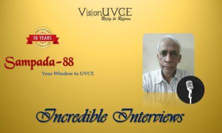 Incredible Interviews | Sampada 88 – NLK Prasad