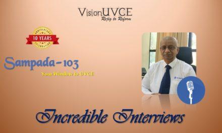 Incredible Interviews   Sampada 103 – Venkatesh G