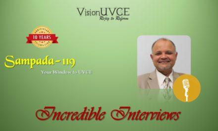 Incredible Interviews | Sampada 119 – Ashwin Rangan