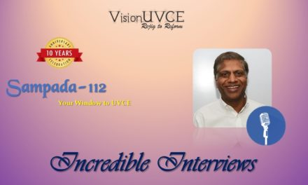 Incredible Interviews | Sampada 112 – Appa Rao