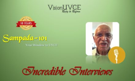 Incredible Interviews | Sampada 101 – Sundar Ram P Reddy