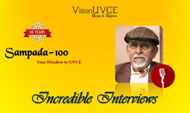 Incredible Interviews | Sampada 100 – Dr M R Srinivasan