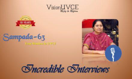 Incredible Interviews | Sampada 63 – Lalitha Anil