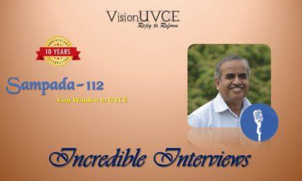 Incredible Interviews | Sampada 112 – Suryaprakash K