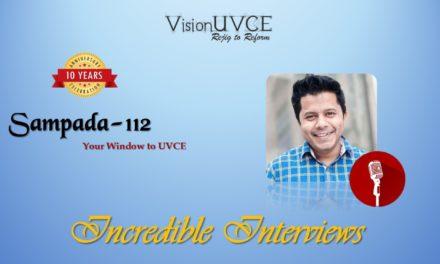 Incredible Interviews   Sampada 112 – Sharjeel Ahmed