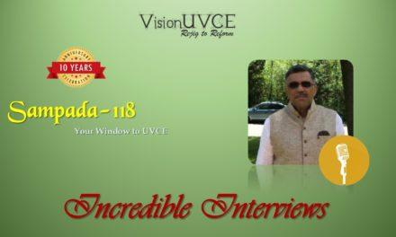 Incredible Interviews | Sampada 118 – Syed Arif