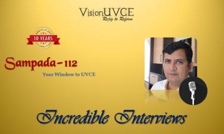 Incredible Interviews | Sampada 112 – Krishna AG