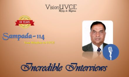 Incredible Interviews | Sampada 114 – Dr R Jagadish