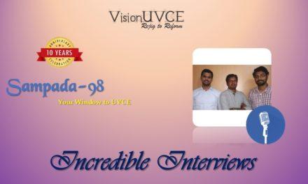 Incredible Interviews | Sampada 98- Cumulations