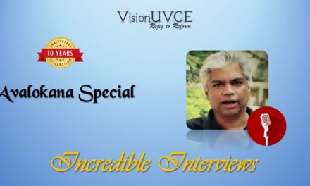 Incredible Interviews | Avalokana – Prakash Belawadi