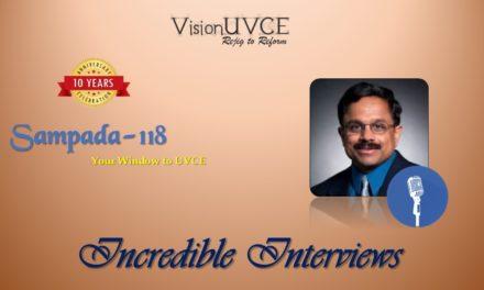 Incredible Interviews | Sampada 118- Anand Athreya