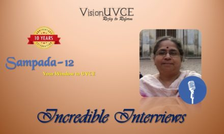 Incredible Interviews | Sampada 12 – Dr P Deepa Shenoy