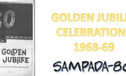 Striking a chord of Celebrations – Golden Jubilee @ UVCE