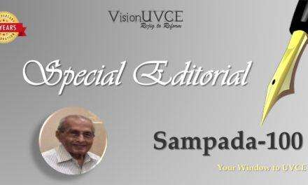 Special Editorial | Sampada100 – AVM Abhaya Kumar