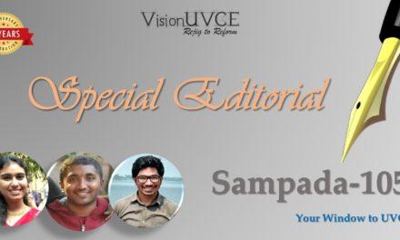 Special Editorial   Sampada105 – Students Speak