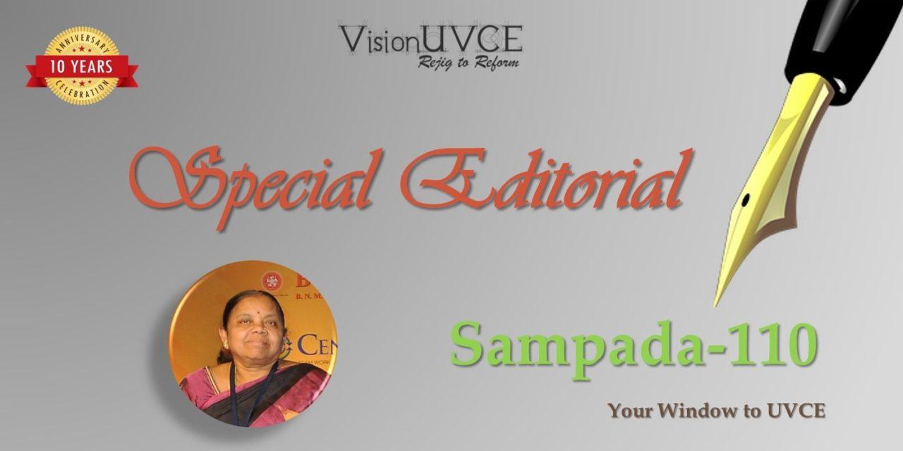 Special Editorial | Sampada110 – Dr Usha Murthy