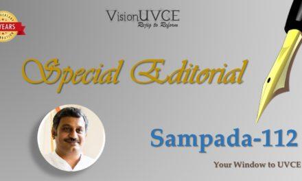 Special Editorial   Sampada112 – Ravikiran A