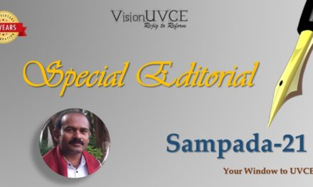 Special Editorial | Sampada21 – Dr K P Guruswamy