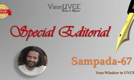 Special Editorial | Sampada67 – Sridhar Aghalaya