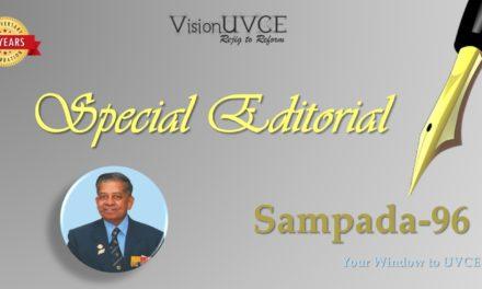 Special Editorial | Sampada96 – LtGen V J Sundaram