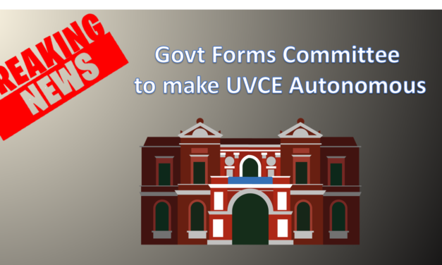 Govt forms Committee to make UVCE Autonomous