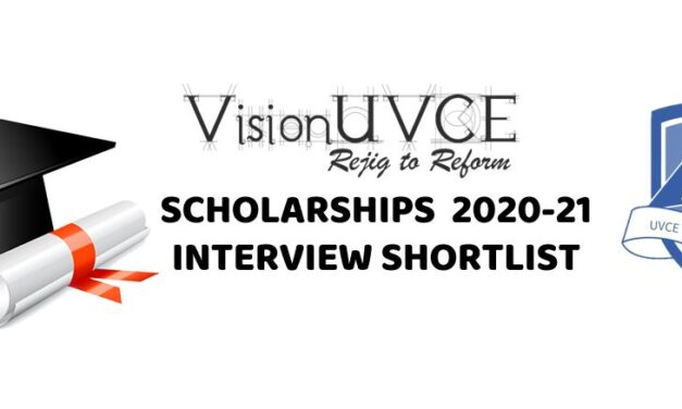 VU Scholarships 2020-21 Interview Shortlisted Candidates