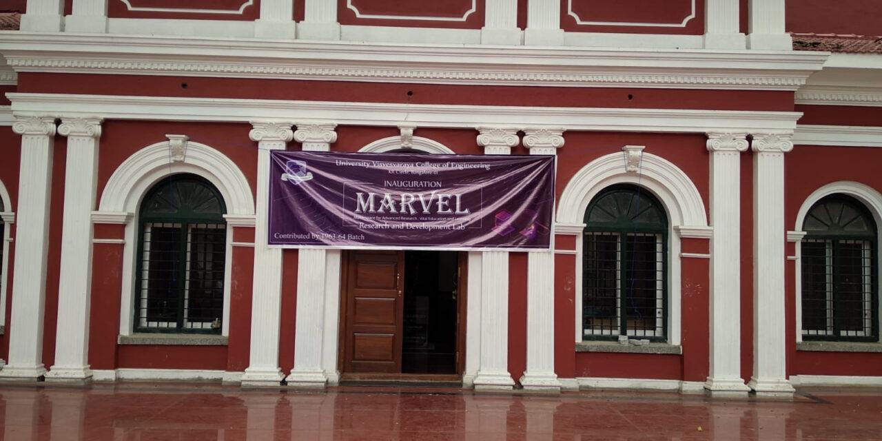 MARVEL – Inauguration